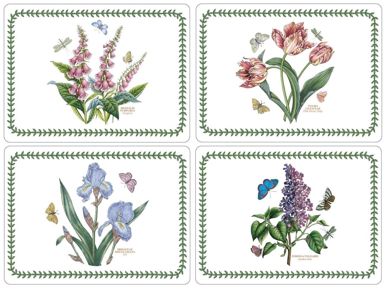 Pimpernel Placemats Large S 4 40x29 5cm Botanic Garden Aantafelgeschenken Nl