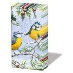 Papieren-zakdoekjes-p/10-Ambiente-CHIRPING-BIRDS winter-Pimpelmees-32211915