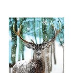 papieren-servetten-p/20-Ambiente-cocktail-25x25cm-WINTER-DEER-hert-eland-gewei-sneeuw-12513765