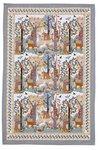 Ulster-Weavers-katoenen-theedoek-WILDWOOD-bedrukt-bruin-bomen-grijs-cotton-Tea_towel