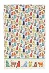 Theedoeken-katoen-CAT-WALK-gekleurde-katten