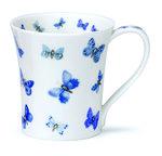 Dunoon-fine-bone-China-JURA-blauwe-vlindertjes-210ml
