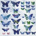 papieren-servetten-lunch-diner-33x33cm-FLY-AWAY-blauwe-vlinders-blue-butterflies-Paper+Design