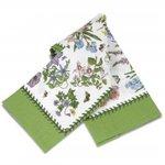 Botanic-Garden-CHINTZ-theedoek-katoen-Tea-Towel-planten-bloemen