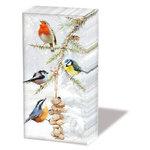 Papieren-zakdoekjes-tissue-ALL-TOGETHER-vogels-pindas-streng-sneeuw-Ambiente-32210580