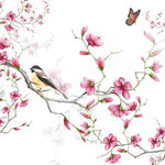 papieren-servetten-p/20-Ambiente-BIRD & BLOSSOM-vogel-bloesem-Koolmees-33x33cm-lunch-diner