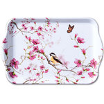 dienblaadje-tray-melamine-small-BIRD & BLOSSOM-White-wit-vogel-bloesem-koolmees-21x13cm-13711215