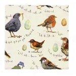 Ulster Weavers-papieren-servetten-BIRDSONG-Madeleine Floyd-33x33cm