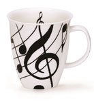 Dunoon-NEVIS-beker-EBONY-music-key-G sleutel-notenbalk-muzieknoot-