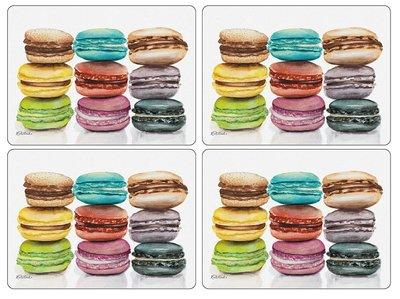 MACARONS Placemats Large 40x30cm s/4 div. kleuren