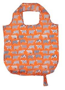 Roll-up Bag CURIOUS COWS oprolbaar boodschappentas