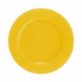 Love Plates 32cm kleur79 Limoncello citroen geel