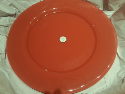 Love Plates 32cm kleur76 Brick Steenrood Terra