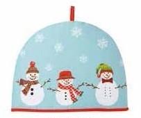 4-delige Winter keukenset CHRISTMAS SNOWMEN Sneeuwmannen