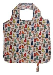 Roll-up Bag CATWALK gekleurde katten