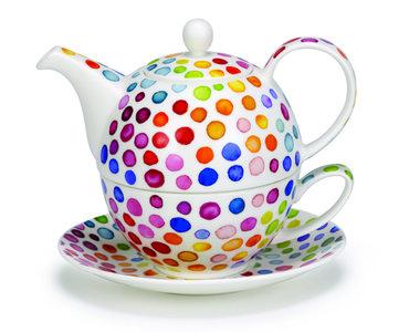 Tea4one HOT SPOTS gekleurde stippen