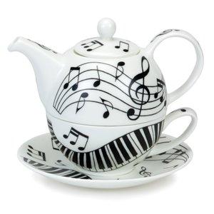 Dunoon Tea4one EBONY & IVORY Muziek