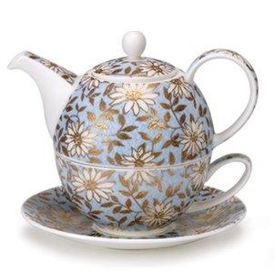 Tea4one AQUA Bloemen met 22-karaats goud