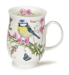 Dunoon beker Suffolk HEDGEROW BIRDS Blue Tit 310ml Pimpelmees