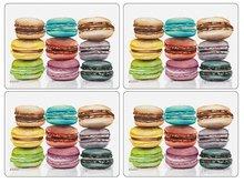 Pimpernel-placemat-set/4-MACARONS-gekleurde-koekjes
