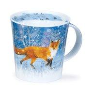 Dunoon-Cairngorm-XL-beker-mok-mug-MOONBEAM-Fox-maneschijn-VOS-480ml-Kate_Mawdsley
