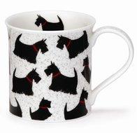 Dunoon-mug-Bute-beker-mok-schots-hondje-GREAT SCOTTIE!-