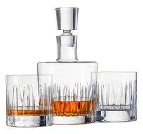 Schott-Zwiesel-Whiskey-set-2-glazen-karaf-kristal-Tritan-geslepen-glas