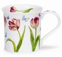 beker-mok-BUTE-Beau-Jardin-Tulip-bloemen-Tulpen-vlinders