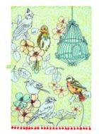 Ulster-Weavers-theedoek-katoen-bewerkt-SONGBIRD-bolletjesband