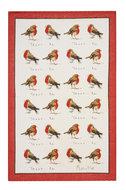 Ulster-Weavers-100%-linnen-theedoek-Robins-Roodborstjes-Madeleine-Floyd