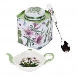 Pimpernel-Portmeirion-3piece-tea-giftset-Botanic-Garden-bloemen