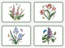 Pimpernel-Portmeirion-placemats-Botanis-garden-Tulp-sering-iris-kunststof-kurk-set/4