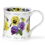 Dunoon-FLOWER OF THE MONTH-MAY-Pansy-bloem-maand-mei-viooltjes-fbC-beker-theetipje