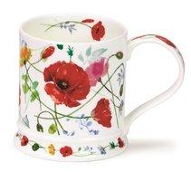 beker-mok-Dunoon-Giftbox-WILD-GARDEN-model-IONA-Poppy-geel-rood-klaprozen-design-Harrison-Ripley