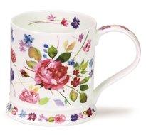 beker-mok-Dunoon-Giftbox-WILD-GARDEN-model-IONA-ROSE-roze-Roos-Pioenroos-Camelia-blauwe-bloemen-design-Harrison-Ripley