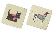 Onderzetters-coasters-kunststof-kurk-HOUND-DOG-Honden-Scottie-s/4-Ulster-Weavers