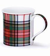 DUNOON-Bute-beker-mok-tartan-DRESS STEWART-Schotse ruit-classic