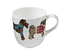 beker-mok-mug-fine-bone-China-HOUND DOG-Honden