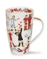 Dunoon-XL-beker-mok-fbC-Henley-600ml-sporters-voetbal-spelers-dames-heren-muurtje-scheidsrechter,grensrechter,voetballen