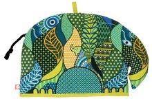 Ulster-Weavers-design-shaped-theemuts-Sarawak-ELEPHANT PARADE-olifant-groen