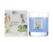 huisparfum-interieurparfum,geurkaars,glas,RHS-Wax Lyrical-SWEET PEA-Lathyrus-42hrs-bloemen