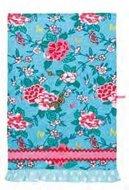 theedoek-katoen-bewerkt-blauw-bloemen-SUSIE-Ulster-Weavers