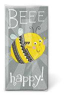 papieren-zakdoekjes-tissue-hanky-paper handkerchief-BEEE HAPPY-vrolijk-bijtje-Feest