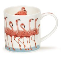 Dunoon-fbC-beker-mok-Orkney-SHOW-OFFS-Flamingo's-design-Kate-Mawdsley-350ml