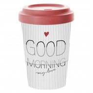 Travel-mug-beker-onderweg-Bamboo-GOOD-MORNING-my-love-400ml-bamboe-natural-