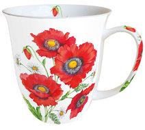 Ambiente-porselein-beker-mok-mug-large-POPPY-SCENE-Klaproos-400ml