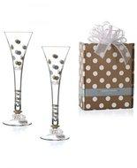 Set-Champagne-glazen-flute-TOGETHER FOREVER-2stuks-huwelijk-geschenk-doos