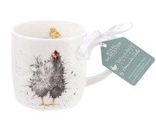 Royal-Worcester-Portmeirion-beker-mok-mug-CURIOUS-HEN-Kip-kuiken-Wrendale-serie-dieren