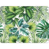 TROPICAL-LEAVES-Ambiente-PVC-placemats-19010940-dun-zacht-foam-polyester-siliconen-40x30cm