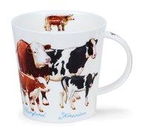 Dunoon-Cairngorm-XL-beker-mug-Farmyard-COWS-480ml-koeien-rassen